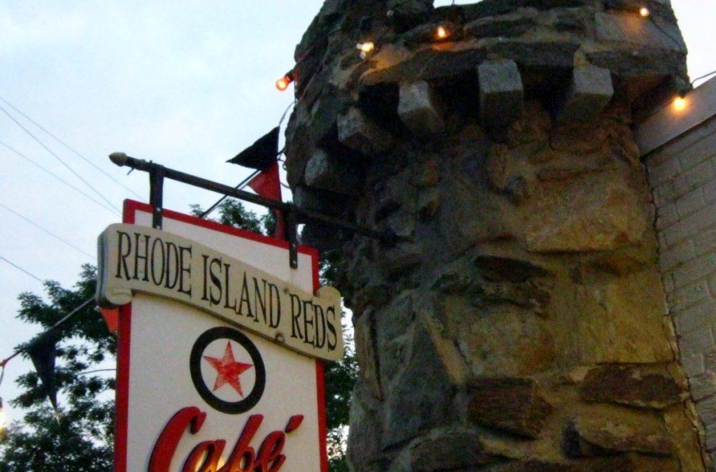 Rhode Island Reds fades to black