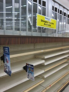 The Safeway pharmacy closed on December 21, 2011, weeks before before the store did. Credit: Susie Currie