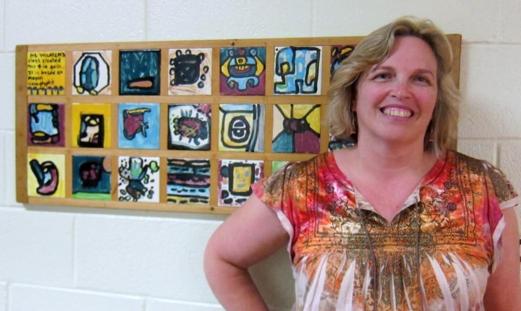 Principal Julia Burton started at Hyattsville Elementary School in July 2012. Photo courtesy Susie Currie