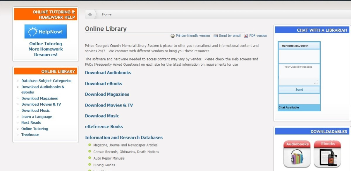 Auntie Diluviana: Navigating the world of online books, with help from library