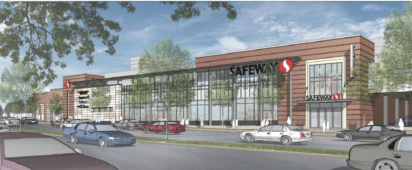 Safeway and Whole Foods race to the finish line: Two grocery stores will be built 1.3 miles apart