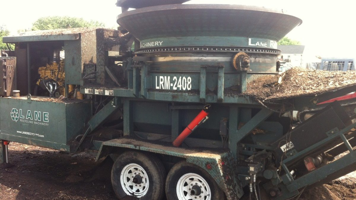 Landscape company turns yard waste into topsoil