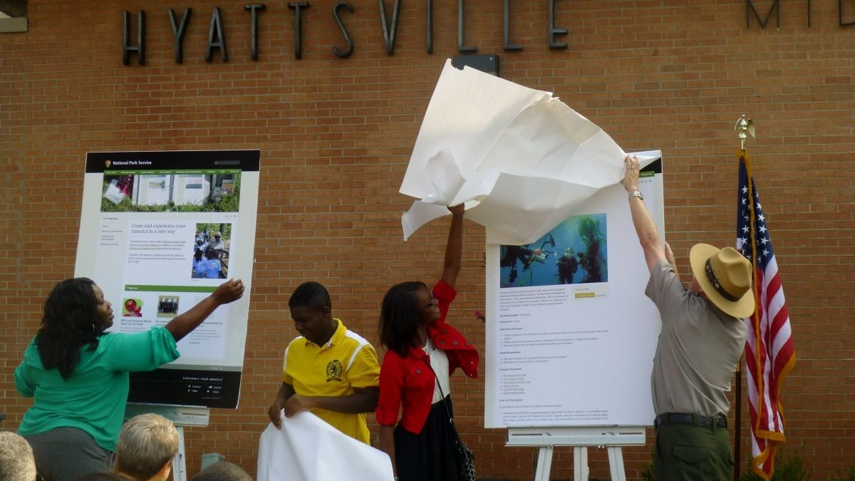 National Park Service partners with Hyattsville Middle in rollout of national program