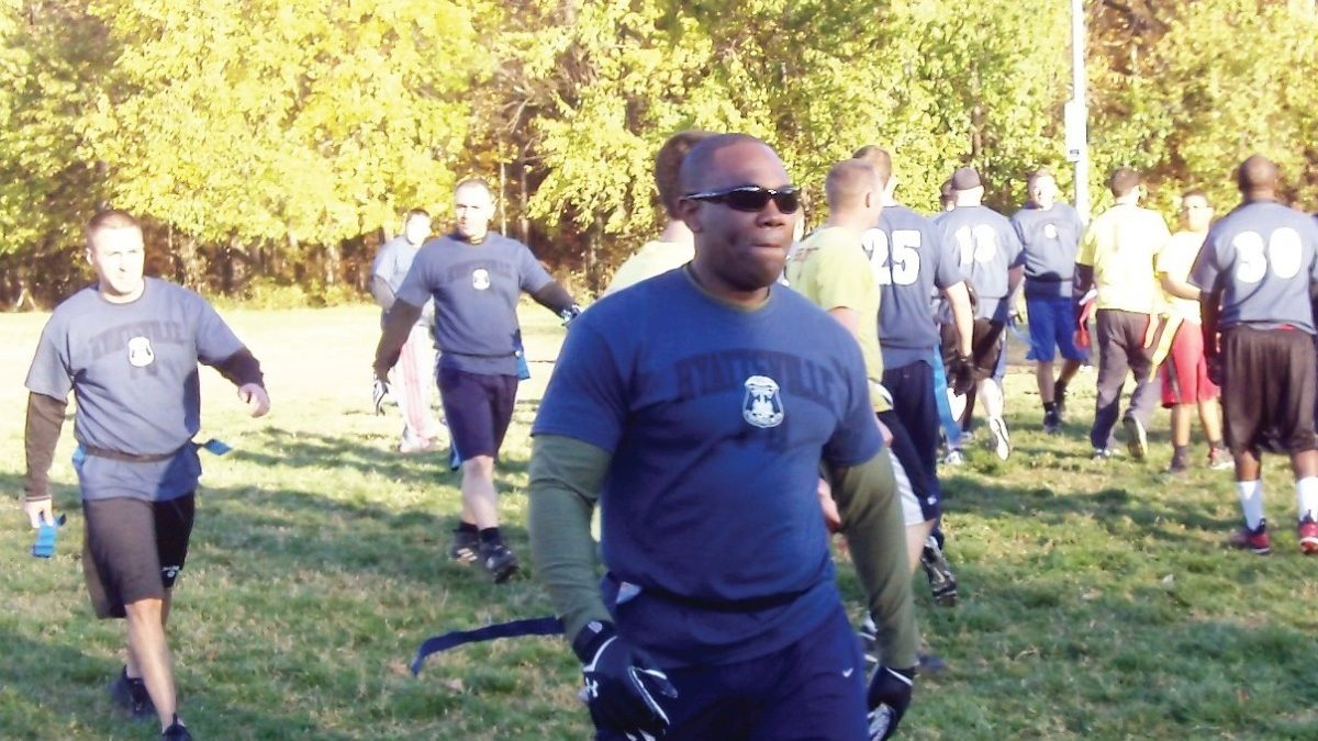 Police win 2013 Heroes' Bowl