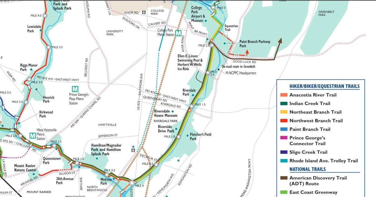 Trolley Trail will connect Hyattsville, Riverdale Park