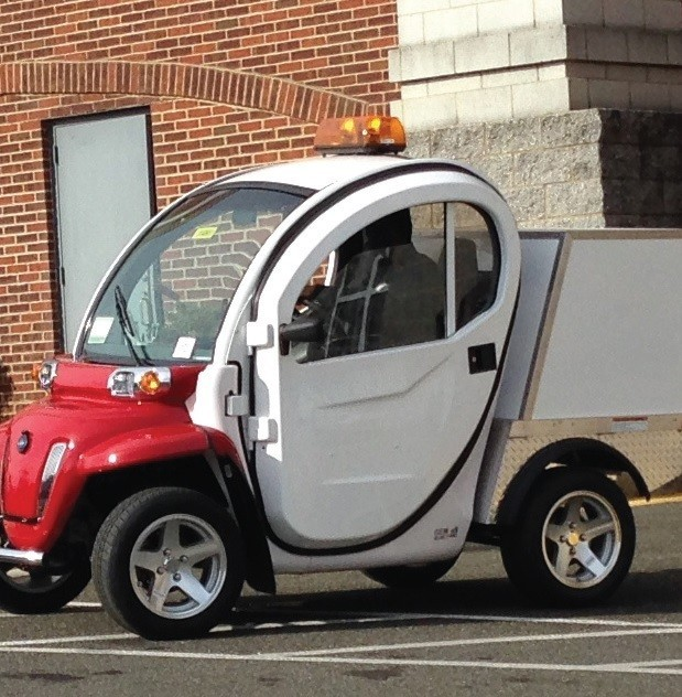 Electric cars join city fleet