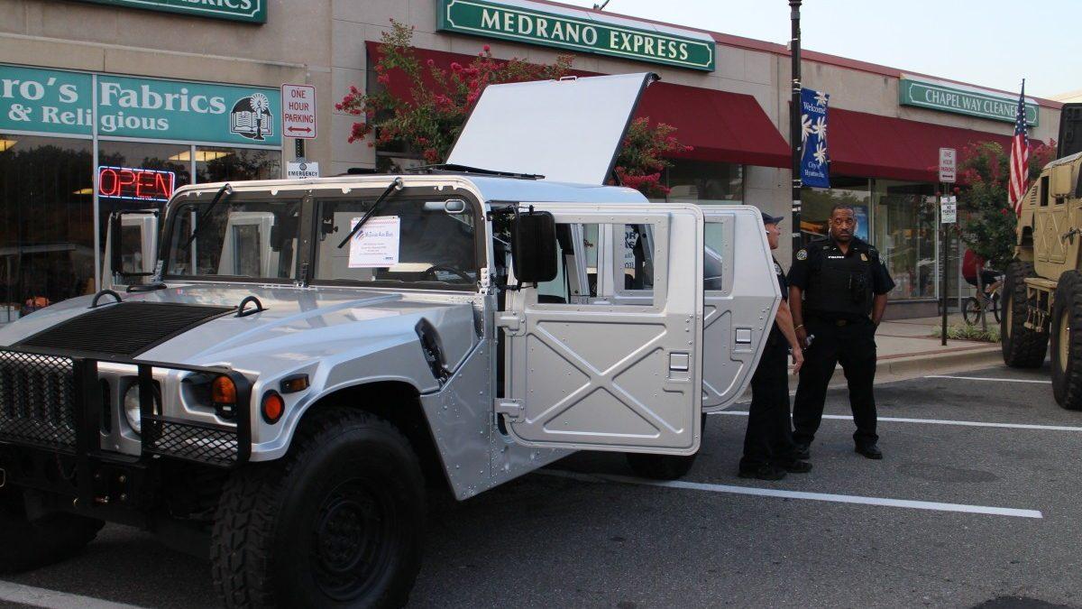 City debuts Hyattsville Humvee