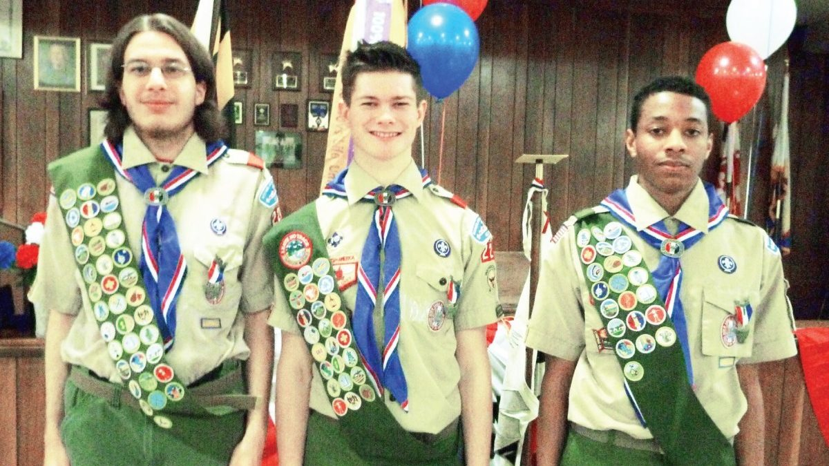 Scouts honored: Troop 224 leaders win district award as number of Eagle Scouts reaches all-time high