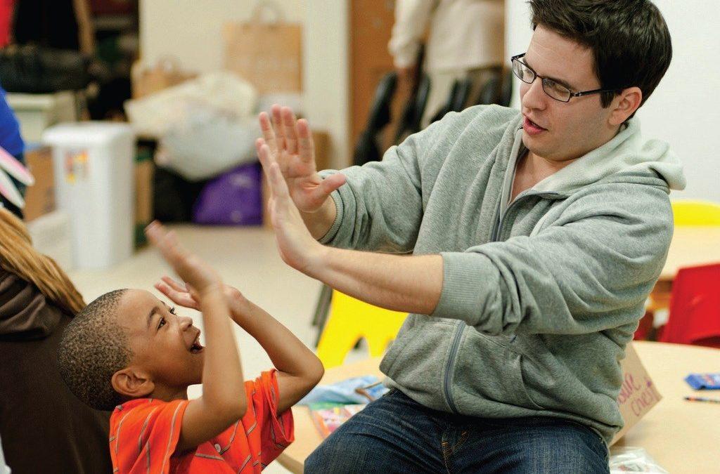 Bringing playtime to needy children