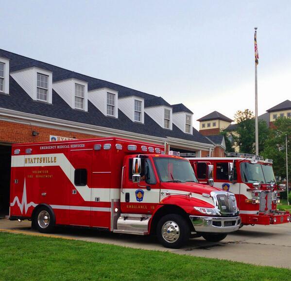 Hyattsville fire department gets new ambulance