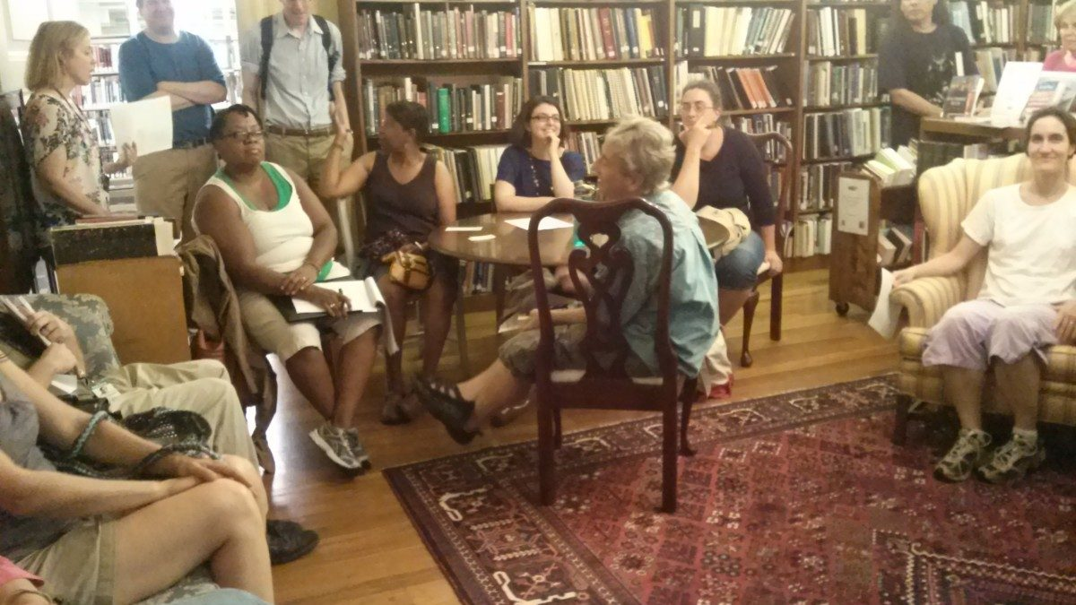 Community turns out to support Hyattsville Library friends group