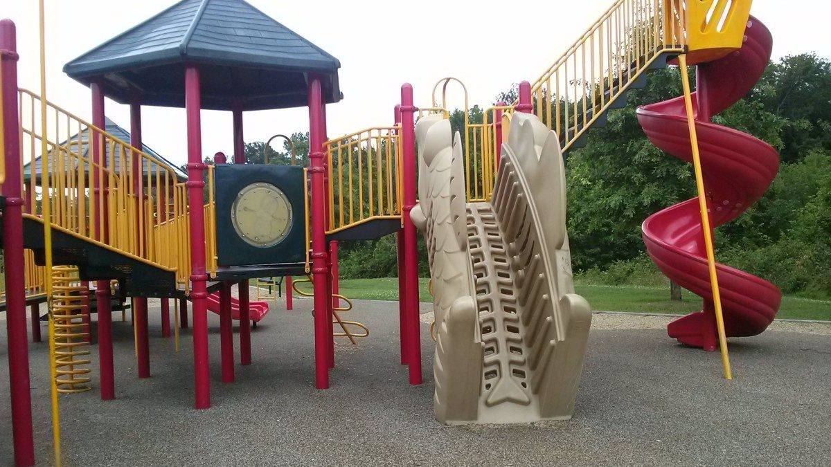 Local playgrounds and water play