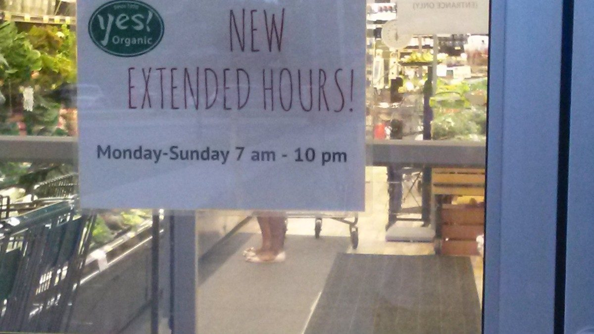 Yes! expands hours, sells Vigilante brand