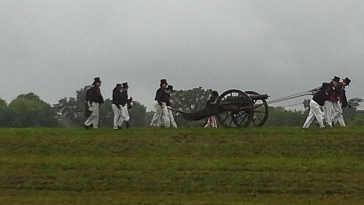 Battle of Bladensburg bicentennial undaunted by rain