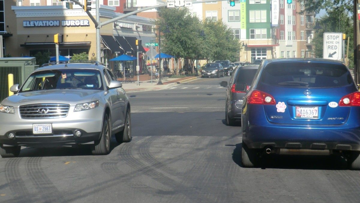 Jefferson Street repaving and speed humps complete