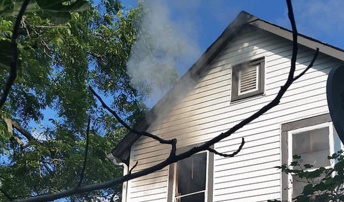 Firefighters respond to Decatur Street fire