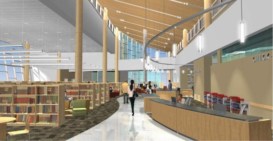 Library input tour continues, preliminary sketches revealed