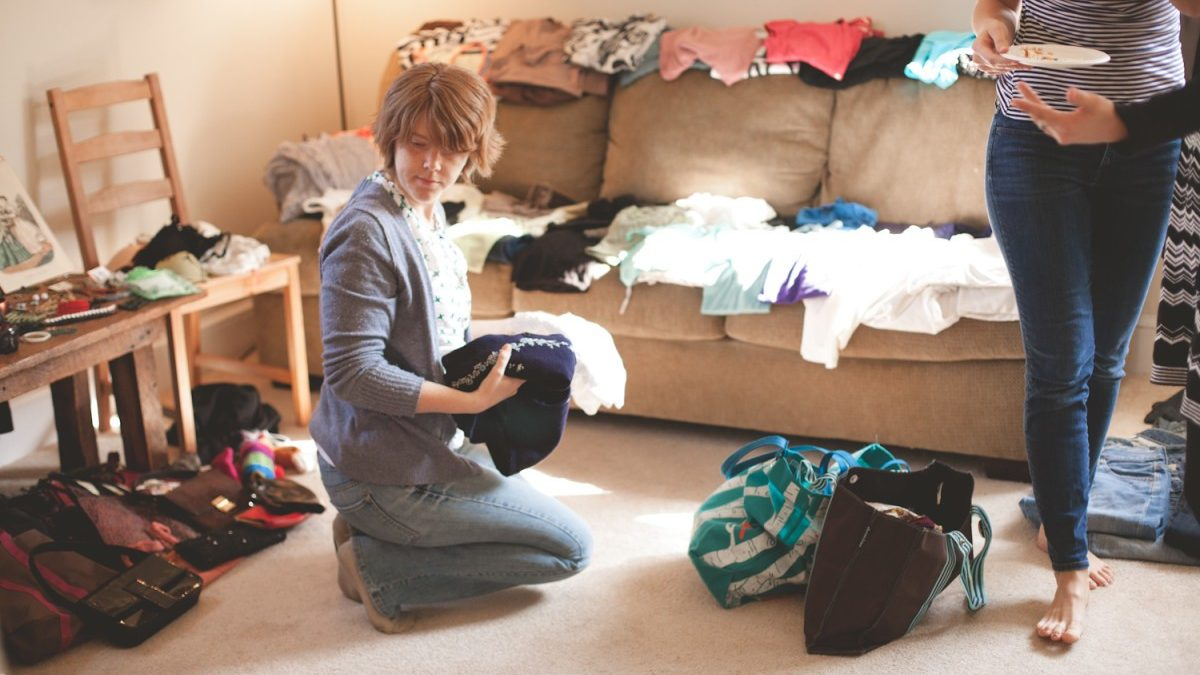 Update your fall wardrobe with a clothing swap