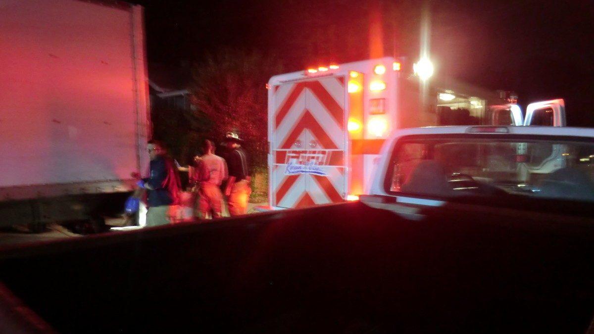 Authories responded to hazmat situation on Nicholson Street