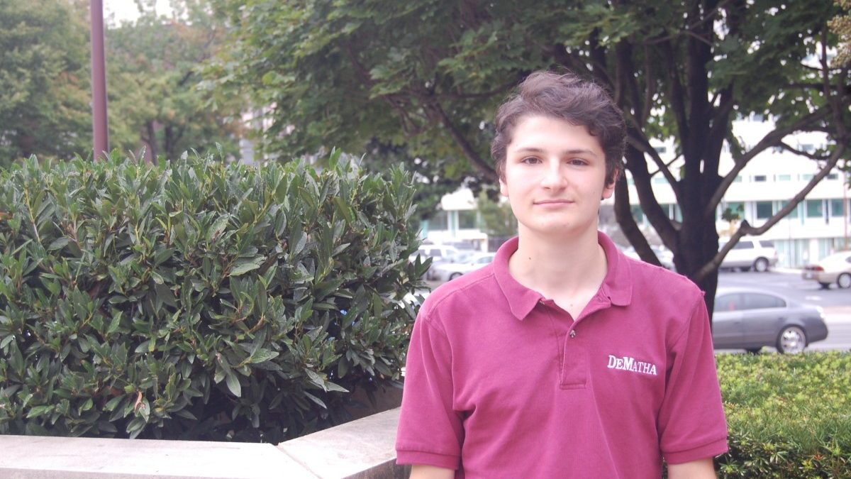 DeMatha student honored as National Merit Semifinalist