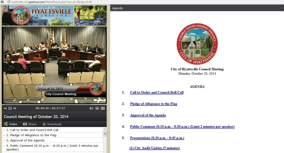 Council votes to swich live streaming, agenda service