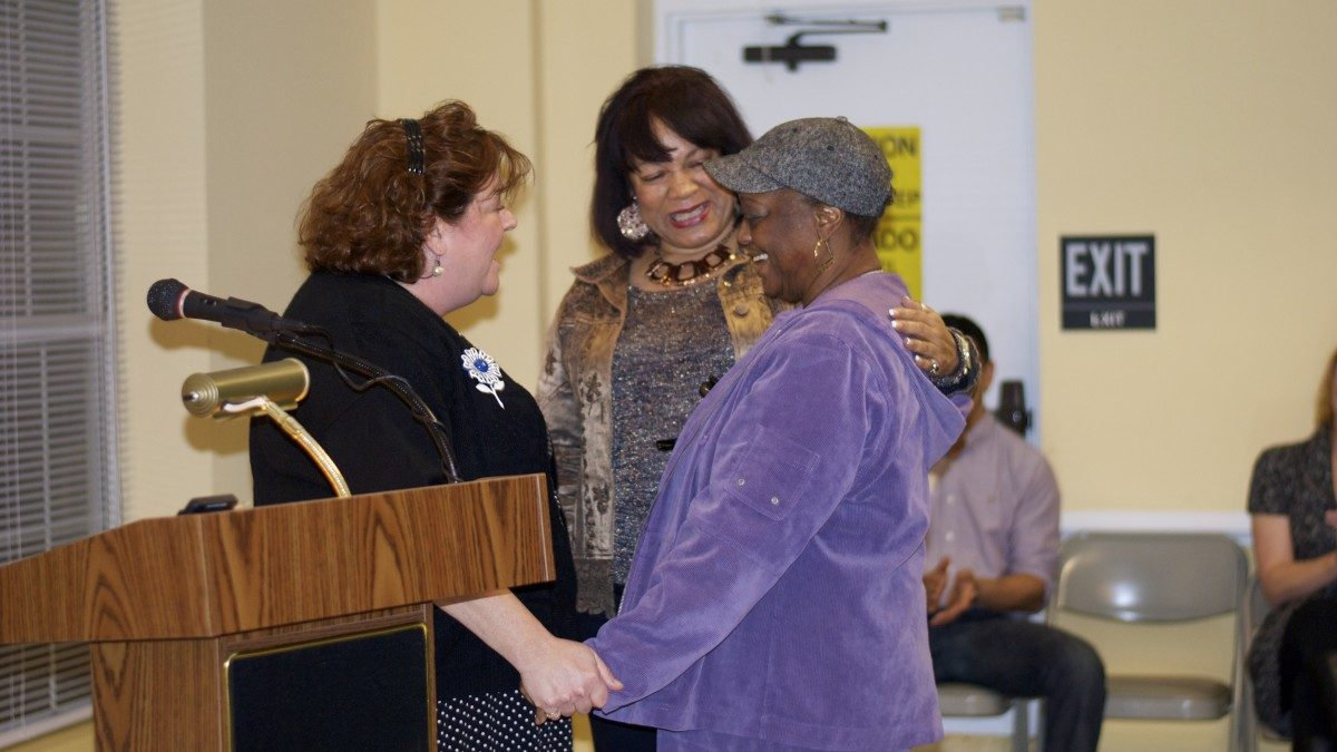 Mary Banks named resident volunteer of the year