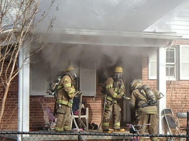 Bedroom fire displaces family of six on Oglethorpe Street