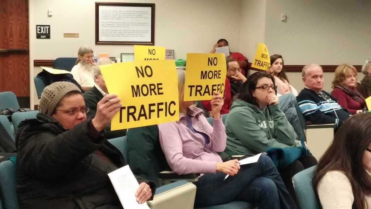 Hyattsville City Council discusses Queensbury Road restrictions