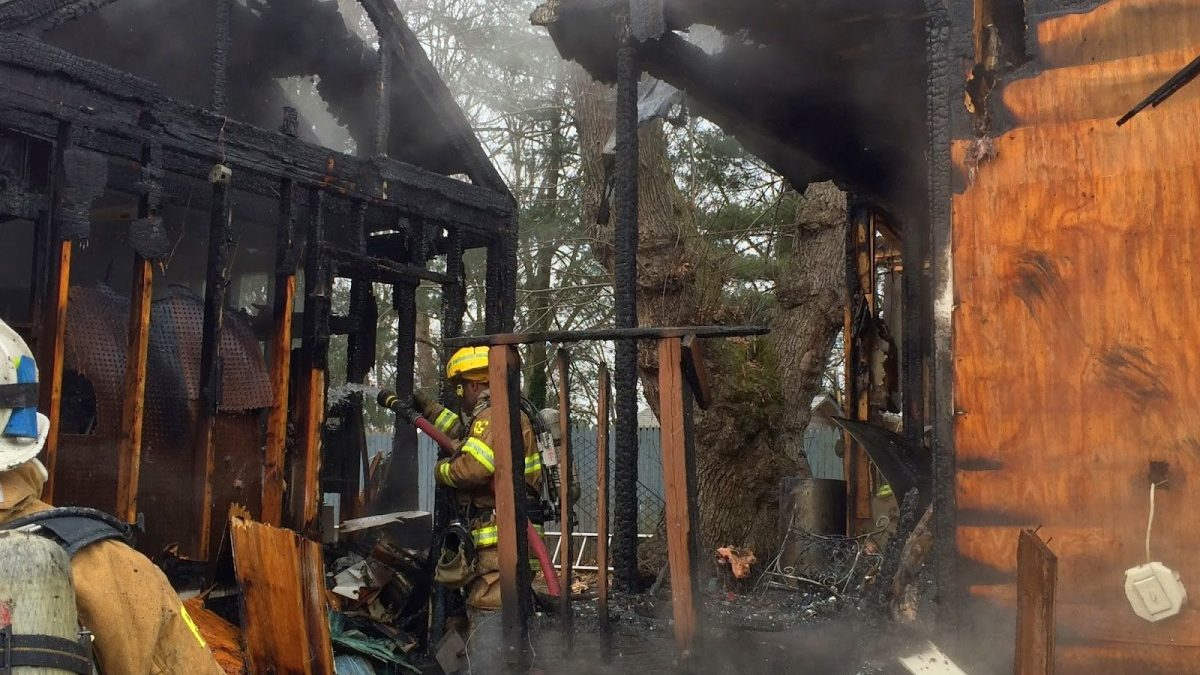 Update: Cottage City house fire displaces two residents, family dog perishes