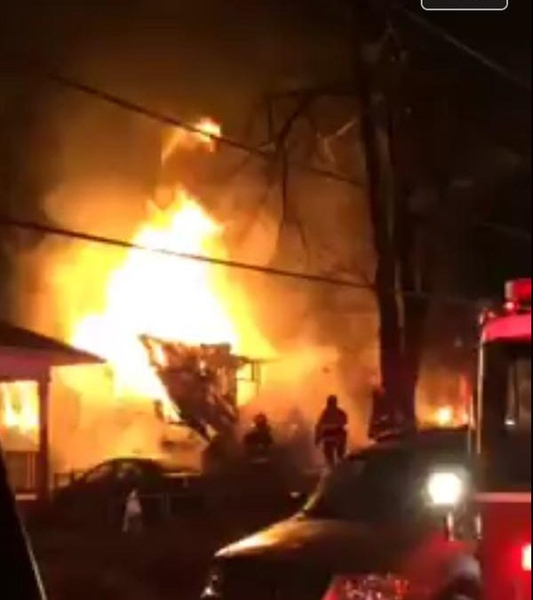 Update: Mount Rainier fire destroys one house, another badly damaged