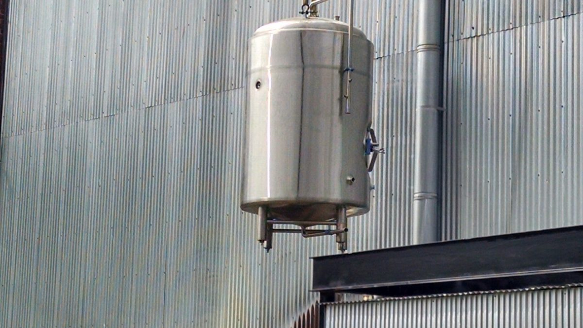 Franklins ups beer production with new brew tanks
