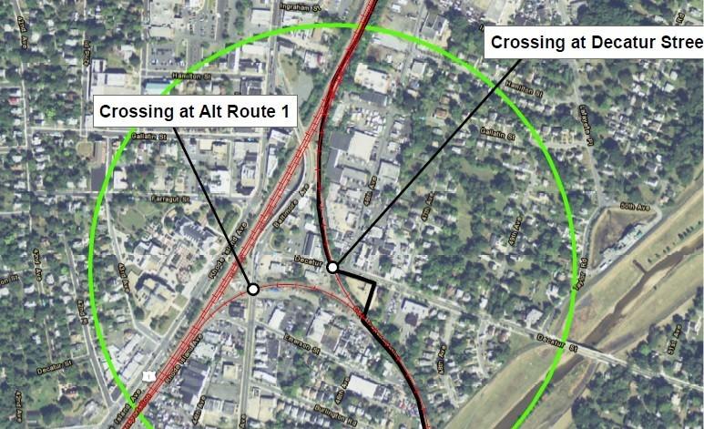 Railroad crossing walk-thru puts quiet zone within reach