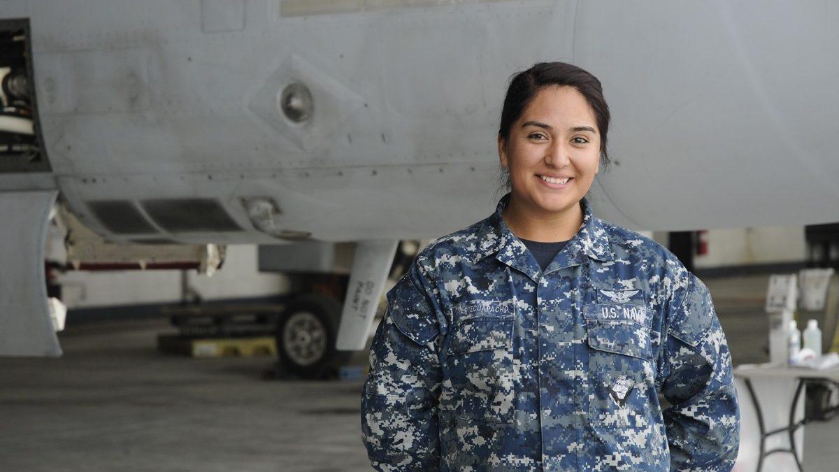 Hyattsville native serves with Navy Strike Fighter Squadron