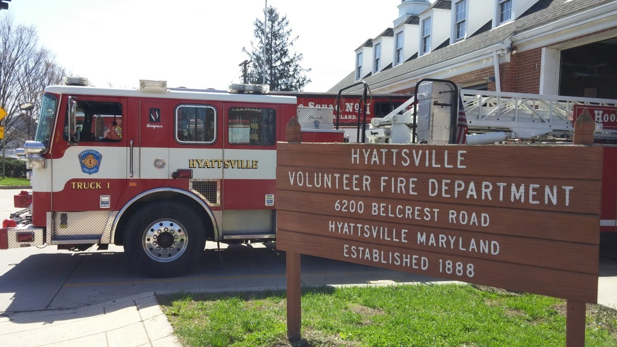 Hyattsville firefighters participate in statewide recruitment event