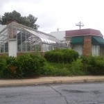 The Marche Florist building as it currently stands.  Photo courtesy Rebecca Bennett.