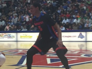 D.J. Harvey and DeMatha open play in the Maryland Private Schools Championship tonight in Upper Marlboro. Next week, the Stags will compete in the Alhambra Catholic Invitational Tournament at Frostburg (Md.) State University. Photo courtesy Chris McManes.