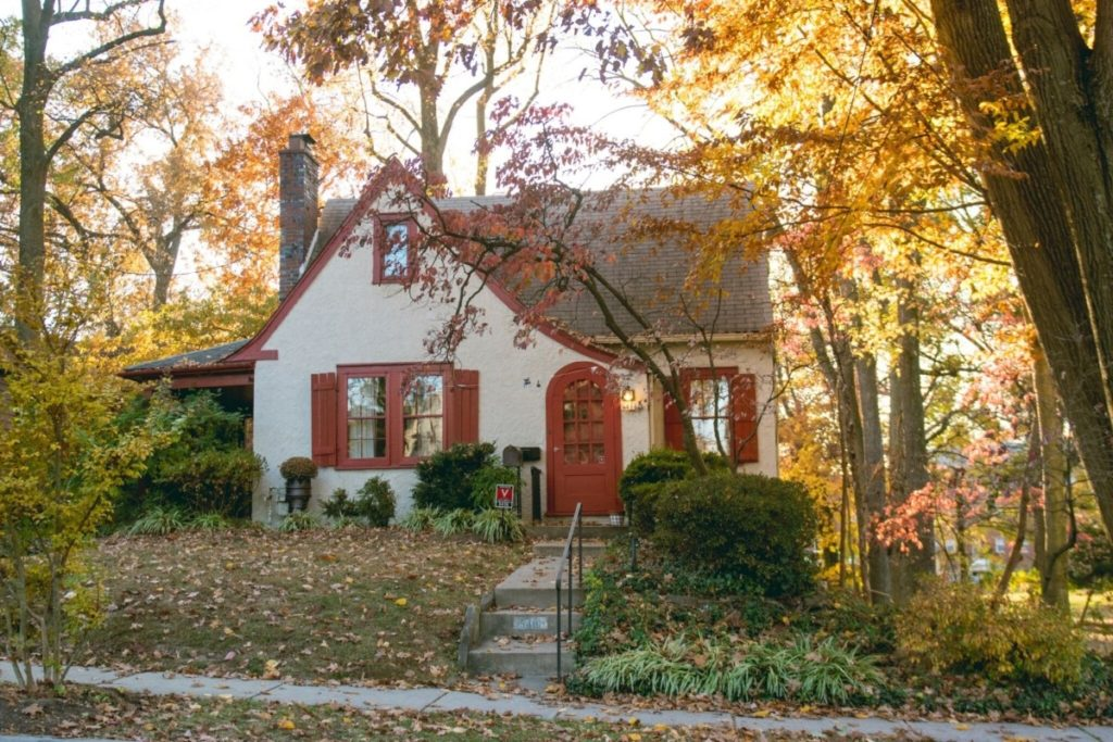 """Gerry Smith's """"fairytale"""" house, where she lived for 67 1/2 years in Hyattsville. Photo courtesy of Jamal Francis"""
