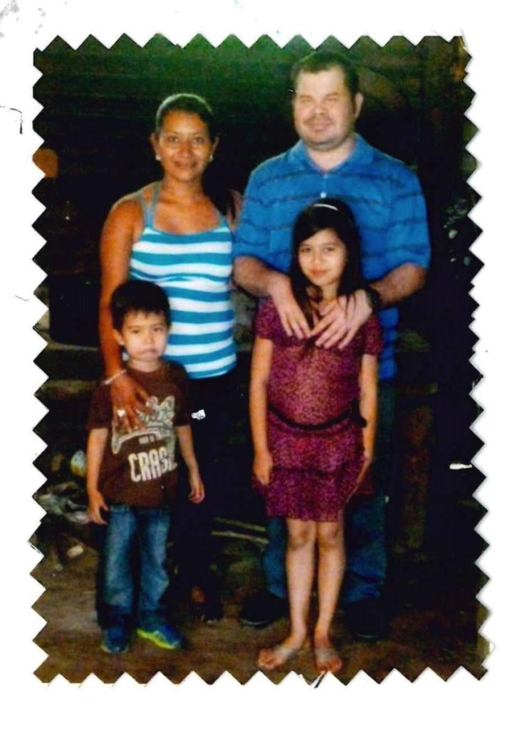Scans of Daniela Barrientos' letter and this family portrait provided by Jake Rollow, Hyattsville City Public Information Officer.