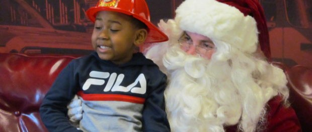 PHOTOS: Santa attends Fire Safety Day to help promote fire safety