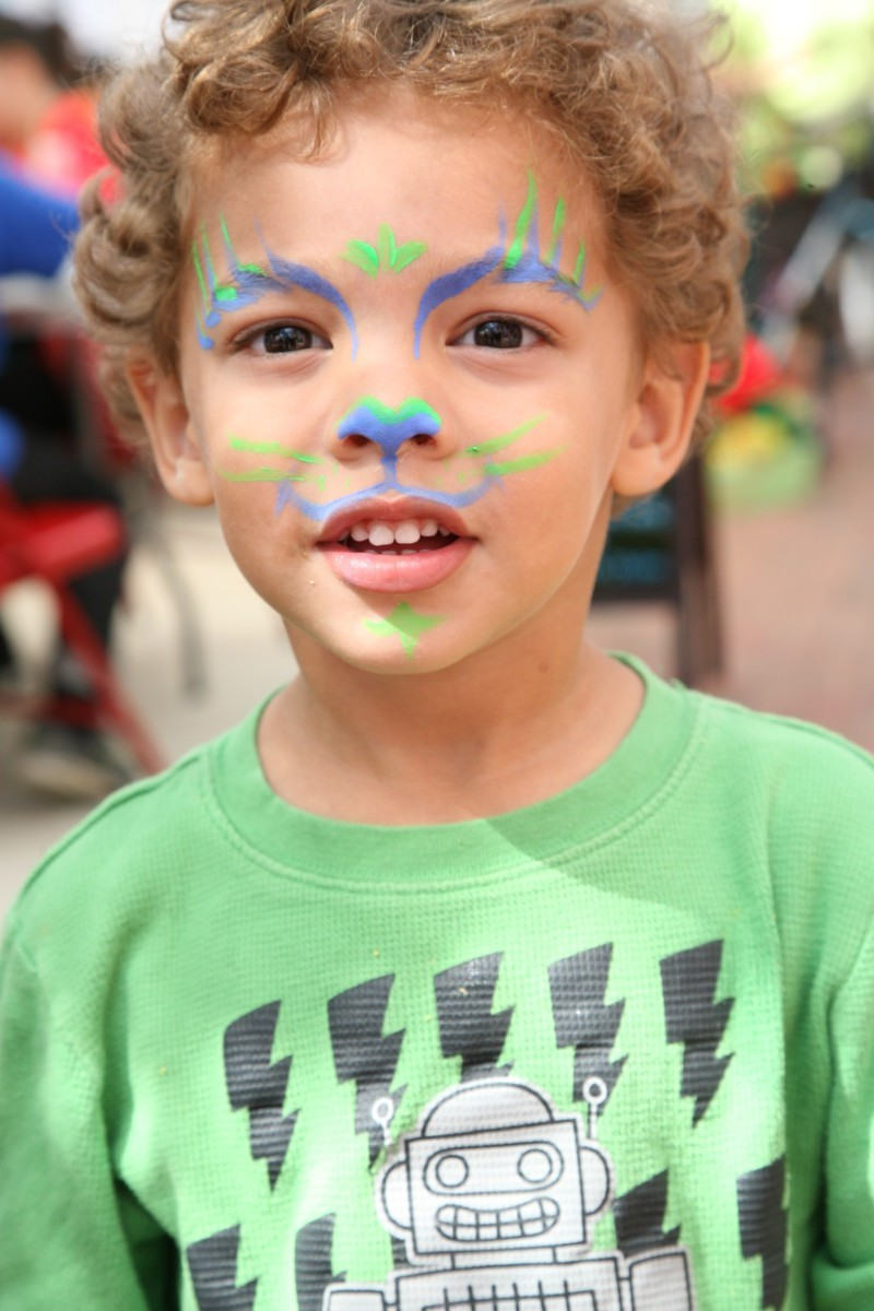 6th Annual Hyattsville Arts Fest face painting 2