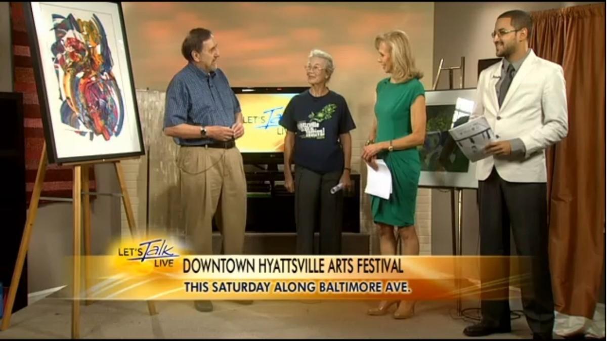 Hyattsville Arts Festival featured on NewsChannel 8