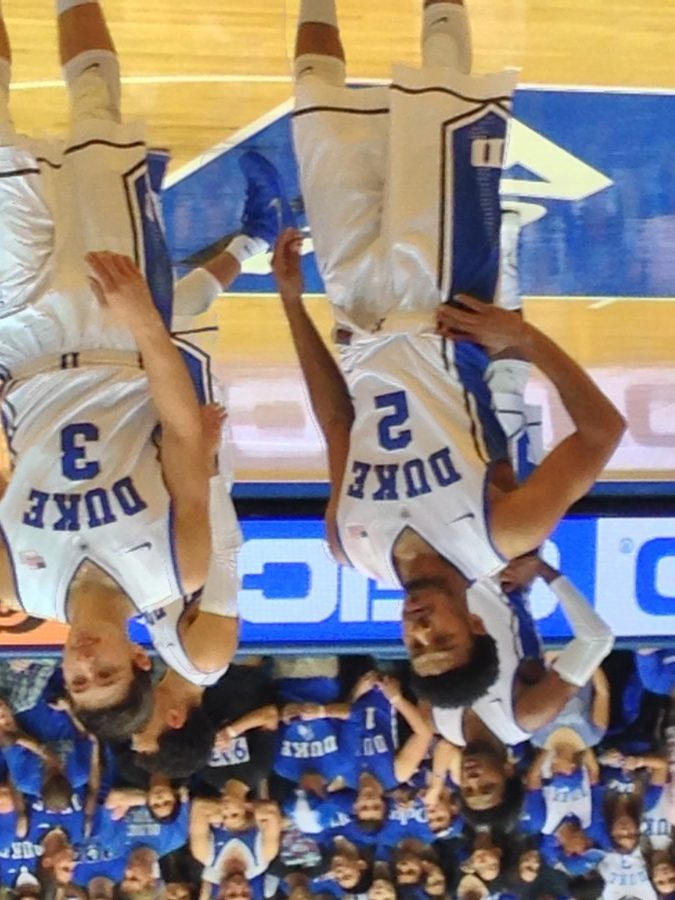Former St. Jerome player Quinn Cook No. 2 now plays point guard for Duke University. Photo courtesy Chris McManes.