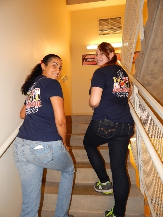 Hyattsville Volunter Fire Department 9/11 stair climb