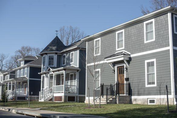 New Houses on Howard Land