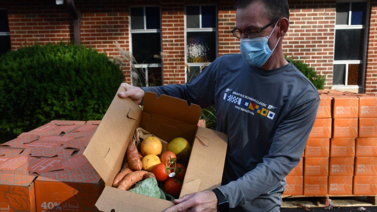 College Park Community Food Bank steps up to the plate