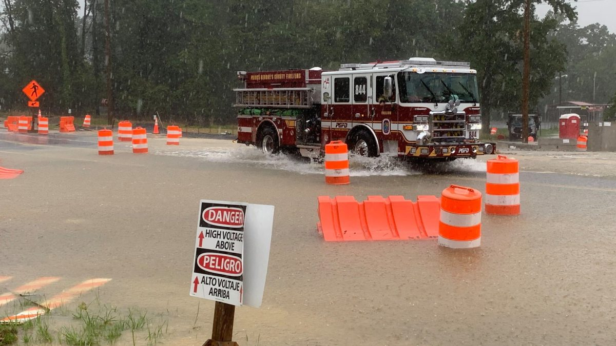 Flooding hits Hyattsville