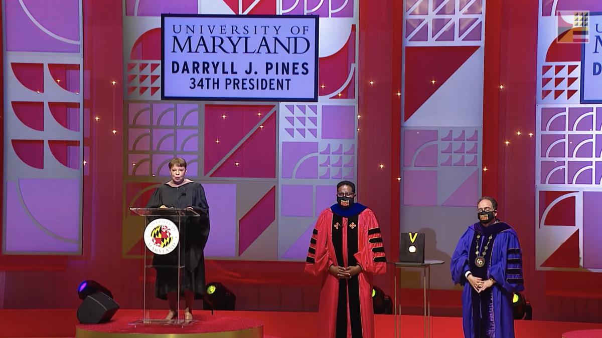 University of Maryland Inaugurates 34th President